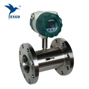 Czujnik przepływu wody 4-20mA turbinowy