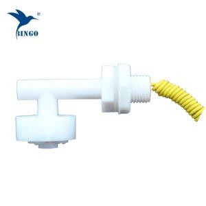 anndason 6 szt. kątowy biały plastikowy pp włącznik pływakowy czujnik poziomu cieczy w zbiorniku wodnym
