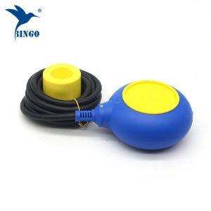 Regulator poziomu MAC 3 w żółto-niebieskim kolorze przełącznika pływakowego