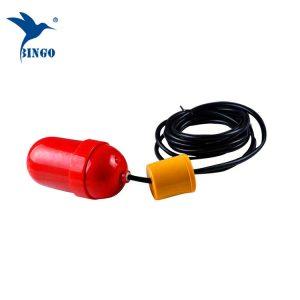 Zatkanie kontrolera poziomu pompy i przełącznika poziomu pływaka kabla zbiornika wody